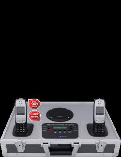 Telefonkoffer Tk-mp3 von Tk-trainer made in Germany