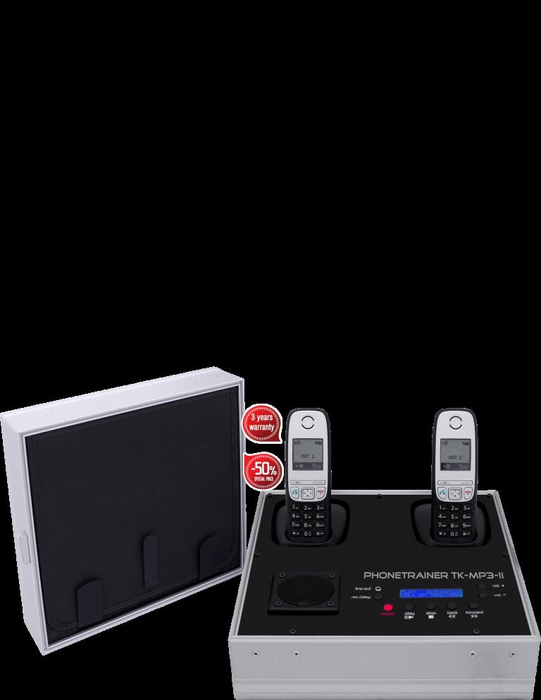 Telefonkoffer neu Tk-mp3-II von Tk-trainer made in Germany