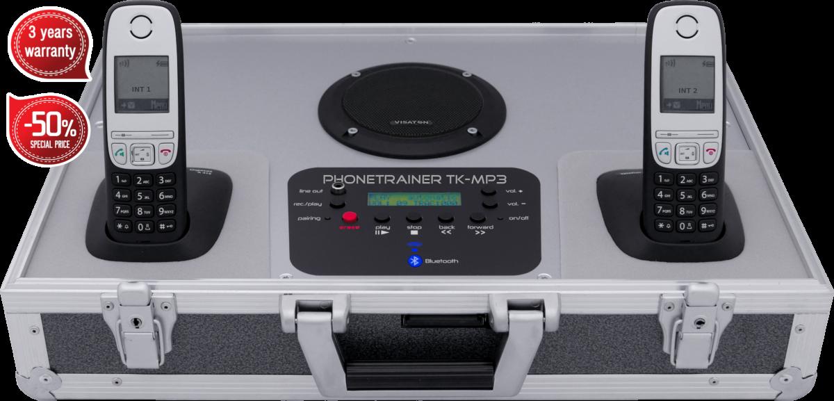 Telefonkoffer von Tk-trainer - TK-MP3-Garantie Preis