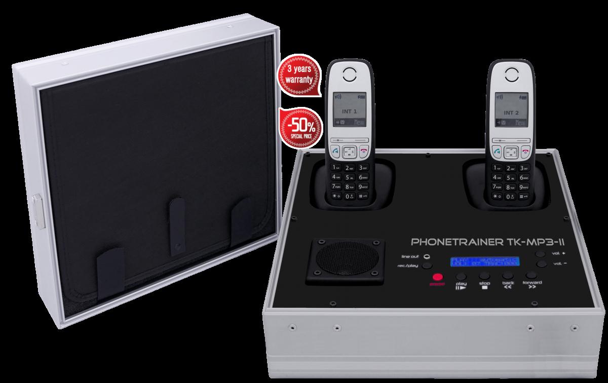 Telefonkoffer von Tk-trainer -TK-MP3-II Garant Preis