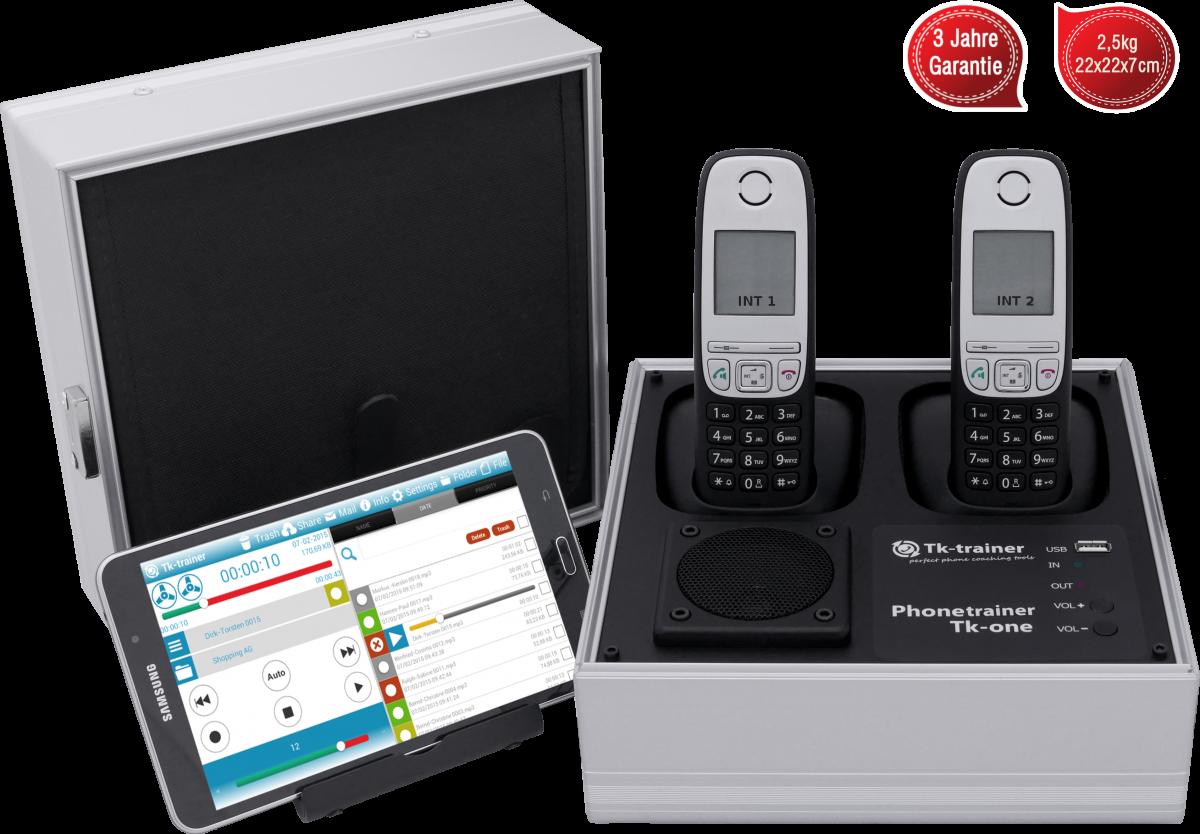 Telefonkoffer von Tk-trainer - Tk-one2 Garantie Gewicht