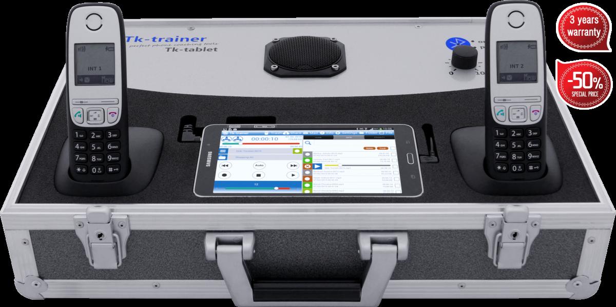 Telefonkoffer von Tk-trainer - Tk-tablet-Garantie Preis